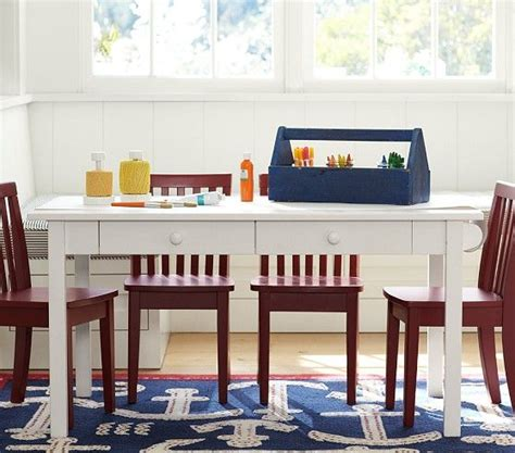 Pottery Barn Craft Desk by Carolina Craft Table 4 Chairs Set Craft Tables Table