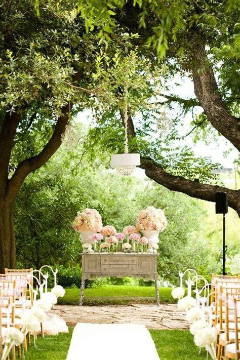 outdoor wedding decor a lovely garden ceremony