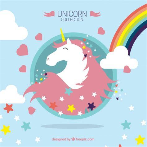 descargar imagenes de unicornios gratis bonito unicornio con elementos maravillosos descargar