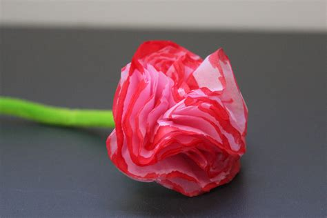 Tissue Paper Flower Craft For - tissue paper flowers mothers day craft flowers tissue