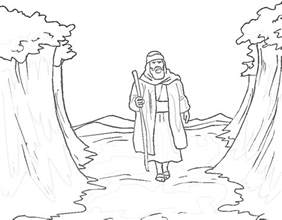 what color was moses free printable moses coloring pages for