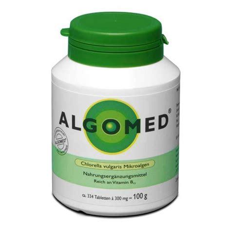 Algae Tablets Detox by Algomed Chlorella Algae Tablets With Essential Nutrients