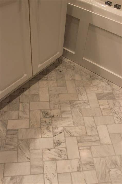herringbone tile floor bathroom herringbone tile floor bathrooms pinterest