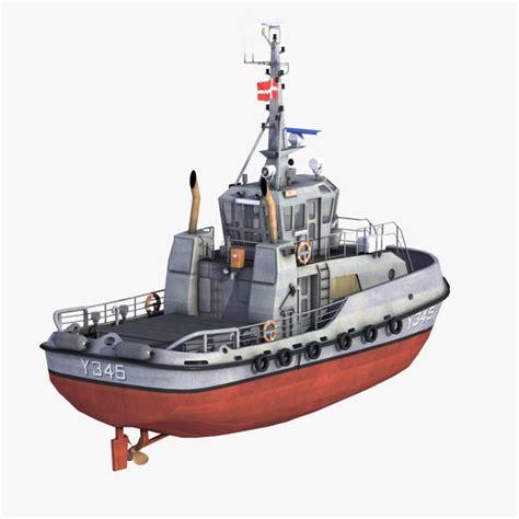 tugboat dwg tugboat 3d models for download turbosquid