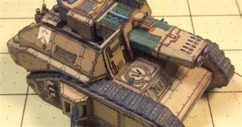 Warhammer 40k Papercraft - papercraft warhammer 40k tank jpg