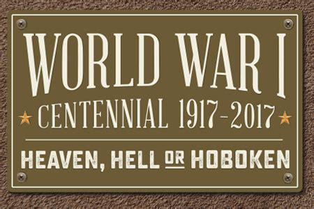 hell heaven or hoboken by an american soldier in the gas regiment books gallery exhibition opening world war i centennial