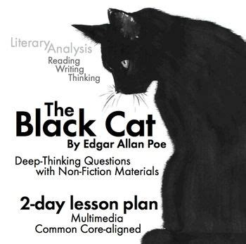 Black Catthe And Other Stories By Edgar Allan Poe black cat edgar allan poe story w non fiction multimedia ccss