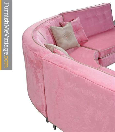 pink leather sectional sofa pink microsuede sectional sofa coffee table furnish me