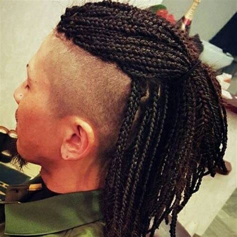 mohawk twists hairstyle men mens box braid styles find your perfect hair style