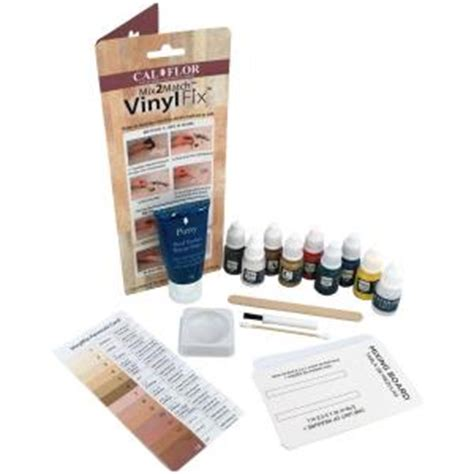 vinylfix vinyl flooring repair kit fl49106cf the home depot