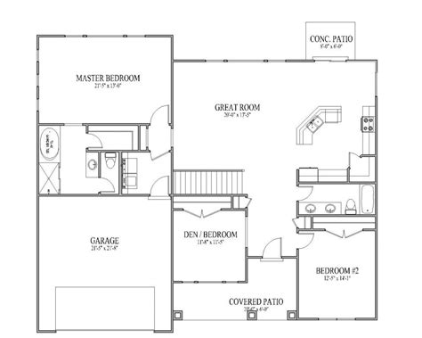 3 bedroom open floor house plans 2017 house plans and