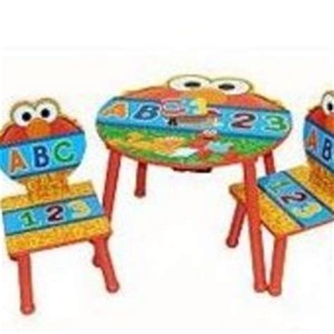 elmo table and chairs idea nuova sesame elmo 3 table and chairs