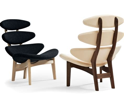 Poul Volther Ej5 Corona Wood Frame Chair   hivemodern.com