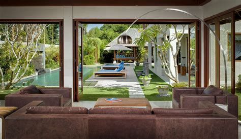 a living room with garden view is a creative idea in
