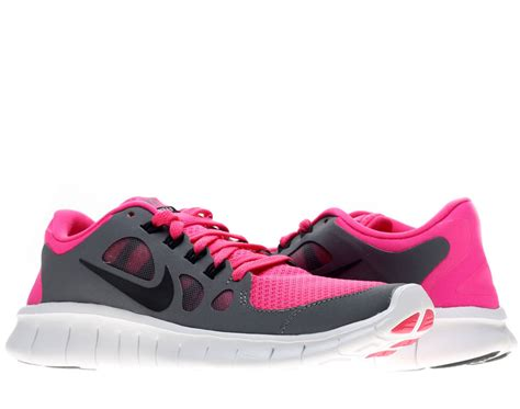 pink and grey nike sneakers nike free 5 0 gs pink foil black cool grey running