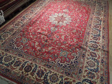 10x15 Rug by Estate Rug 10x15 Semi Antique Esfahan Carpet Iran