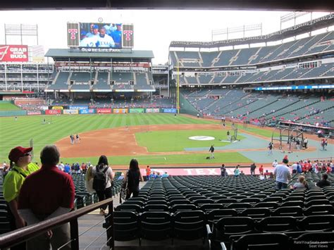 Globe Life Park Section 119 Rateyourseats Com