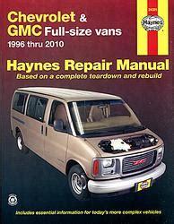 chilton chevrolet full size vans 1998 2010 repair manual gmc savana 1996 2010 werkplaatshandboeken haynes en chilton 2