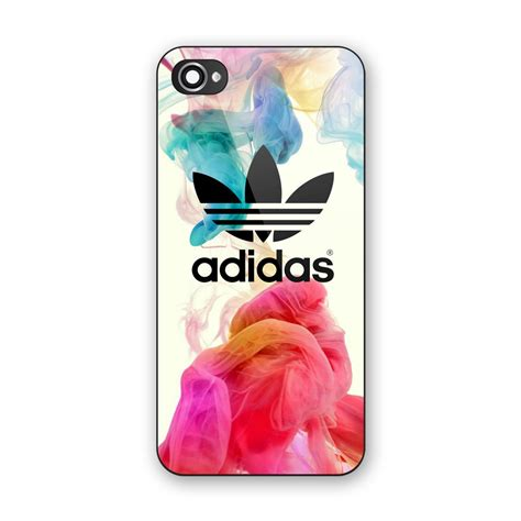 Adidas Logo Custom Iphone 6 new adidas logo colorful smoke custom print on iphone 5