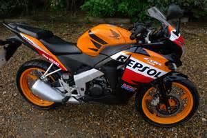 Honda Cbr125 Repsol 2013 Honda Cbr 125 R C Orange Repsol