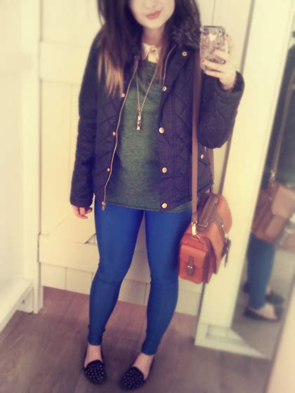 Olive Blouse Jo jo lespoirdemavie fashion topshop scallop blouse ark olive oversized top ark blue