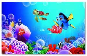 Wall Mural Stencil Kits finding nemo colorful fish wall decal removable stickers