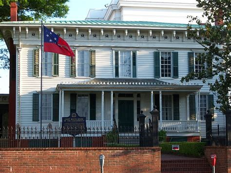 where was the original white house first white house of the confederacy images
