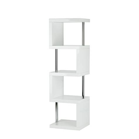 etagere 50 cm largeur etag 232 re blanc brillant home24 fr