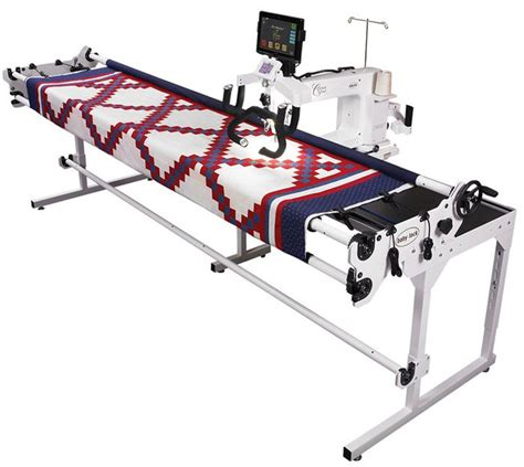 Cheap Arm Quilting Machine baby lock crown arm quilting machine and pearl frame discount vacuum sewing