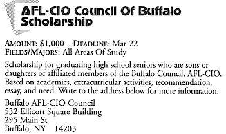 Uncf Mba Scholarship by Buffalo Scholarship