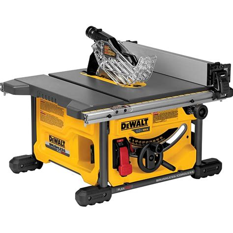 Dewalt Table Saw by Dewalt Dcs7485b 60v Max 8 1 4 Inch Table Saw Bare