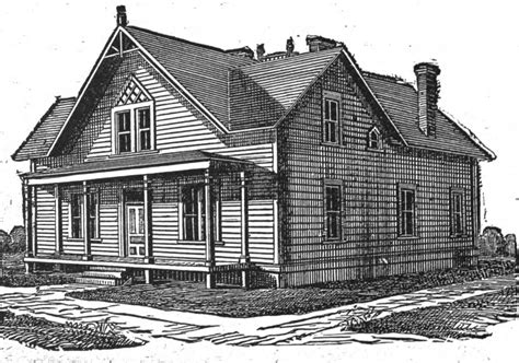 rural house plans 19th century historical tidbits 1895 rural house plans 3
