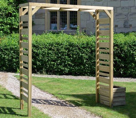 Wooden Garden Arch Uk Grange Garden Arch Gardensite Co Uk