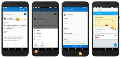 outlook mobile app android meistertask for microsoft outlook now on web desktop and