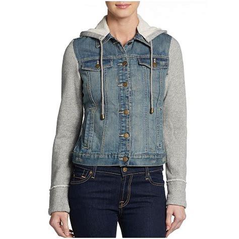 hooded jean jacket denim jackets for jackets