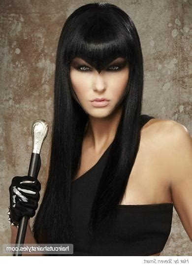edgy haircuts with bangs 15 inspirations of edgy long haircuts with bangs