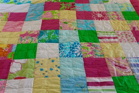 Quilting And Patchwork - lilly pulitzer patchwork quilt herkentucky