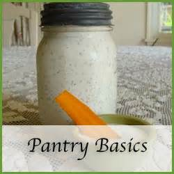 Pantry Basics by Recipe Index An Oregon Cottage