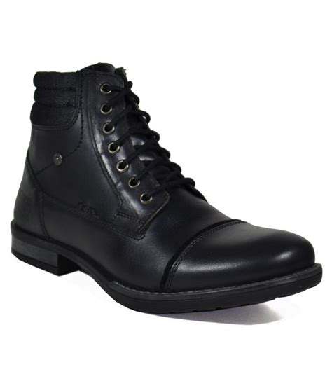 Boot Black Casual tsf black casual boot buy tsf black casual boot