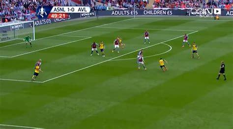arsenal last match watch arsenal 4 0 aston villa fa cup final match