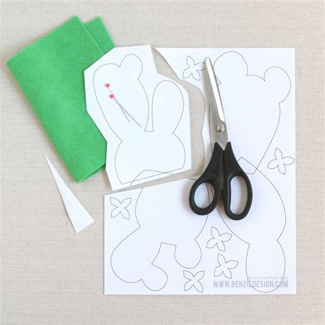 Where Can I Make Paper Copies - felt cactus diy benzie design