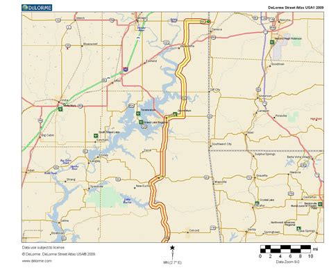 map of texas and oklahoma border oklahoma arkansas border map