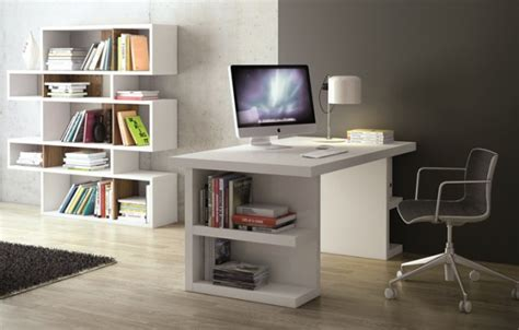 White Home Office Furniture Uk 17 White Desk Designs For Your Home Office