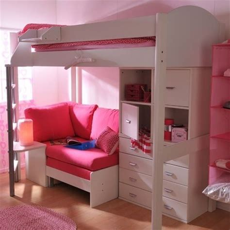 Pink Futon Bunk Bed With Desk Best 25 Futon Bunk Bed Ideas On Loft Beds Loft Bed Decorating Ideas And Bunk