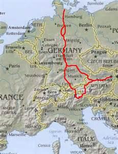 Germany Austria Map by Germany Amp Austria 2004