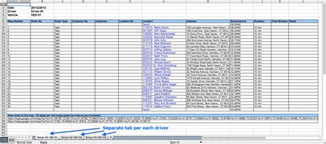 route card template excel delivery schedule template excel schedule template free