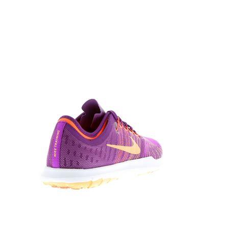 chaussures été femme chaussure de sport nike flex adapt femme violette chaussures nike en promo