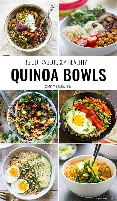 best quinoa recipes the 35 best quinoa bowls simply quinoa