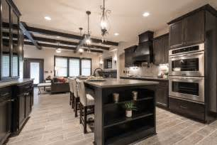 Black Wood Kitchen Cabinets Wood Kitchen Cabinets Kitchen Transitional With Alder Black Boxed Ceiling Beeyoutifullife