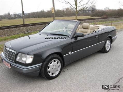 97 Mercedes E320 by 1996 Mercedes E320 Convertible From 97 Sport Line